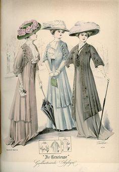 De Gracieuse, December 1908, Edwardian Fashion Plate