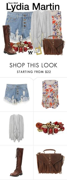 """""""Teen Wolf"""" by wearwhatyouwatch ❤ liked on Polyvore featuring Chesca, Diane Von Furstenberg, Topshop, Beverly Hills Charm, television and wearwhatyouwatch"""