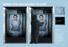 A great example of interactive out of home advertising that encourages…