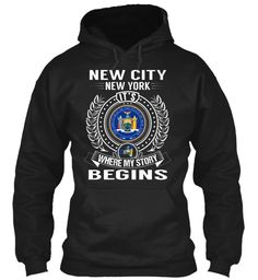 New City, New York - My Story Begins