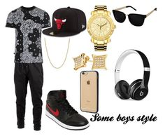 """An every day style for guys"" by mexican-shawty1 on Polyvore featuring NIKE, Ideology, Vivienne Westwood Anglomania, Bling Jewelry, JBW, David Yurman, New Era, Incase, Beats by Dr. Dre and boys"