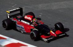 1992 - Belgium - Fondmetal - Eric Van De Poele