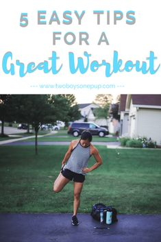 #ad 5 Easy Tips for a Great Workout! Everyone wants their workout to go smoothly, so I'm sharing my tips for a good workout on the blog today, featuring my go-to deodorant, @degreewomen 's UltraClear Black+White Dry Spray Deo! #SavingStyleAtWM #fitness #fitnesstips #workouttips #warmup #fitnessadvice #greatworkout #armworkout #legworkout #twinmom #easyworkout