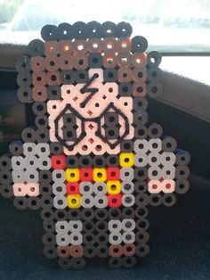 Harry Potter Perler Beads by ChooseYourNerd - Stitching detail into projects