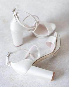 21 Most Wanted Wedding Shoes For Bride & Bridesmaids ❤ wedding shoes simple with low heels harrietwilde #weddingforward #wedding #bride