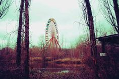 Surreal Abandoned Amusement Park in Berlin