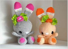 Mesmerizing Crochet an Amigurumi Rabbit Ideas. Lovely Crochet an Amigurumi Rabbit Ideas. Easter Crochet, Crochet Bunny, Love Crochet, Crochet Animals, Crochet Crafts, Crochet Projects, Crochet Amigurumi, Amigurumi Patterns, Amigurumi Doll