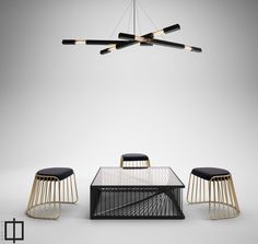 industrial chandelier  rustic lighting  industrial by Daikonic