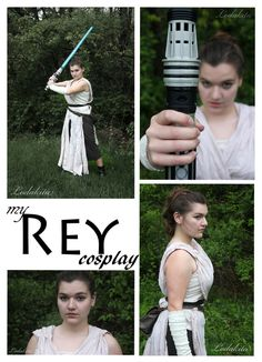 I finally finished my Rey cosplay! You can check out the full gallery here .