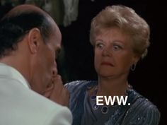 Angela Lansbury expressing her true thoughts on PDA. Eeeew.