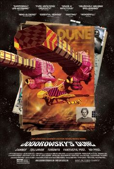 Fascinating doc about the most influential film never made—Jodorowsky's passion project to bring the classic sci-fi novel Dune to the big screen, convincing people like Orson Welles, Salvador Dali, Mick Jagger to star and Pink Floyd to score. Cartoonist Moebius, f/x expert Dan O'Bannon, and artist H. R. Giger's visual designs and story boards would go on to influence seminal films like Star Wars, Alien, Terminator, Blade Runner and The Matrix, forever changing the language of the sci-fi…