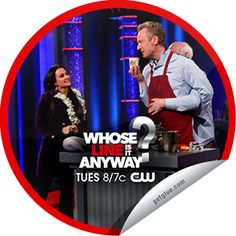 Steffie Doll's Whose Line is it Anyway? Kyle Richards Sticker | GetGlue