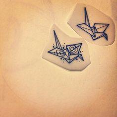 Mini origami per timbri