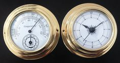 26.50$  Watch now - D96 Thermometer Hygrometer Barometer Watches Clock 2 Whole Set Weather Station  #bestbuy