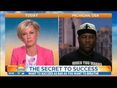 did u see this? Eric Thomas Live on the Today Show