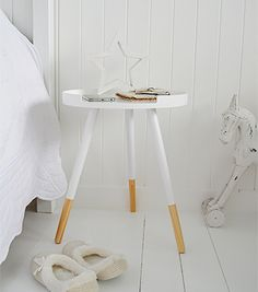 white small bedside table bedside tables decor and bedroom furniture for coastal white