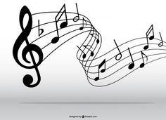 Musical Notes Portrait Blank Devin Pinterest Music Border