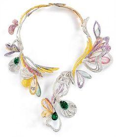 Joyería Legendary casa Boucheron han creado su última línea de joyas, llamada Boucheron L'Artisan Du Reve Collection.