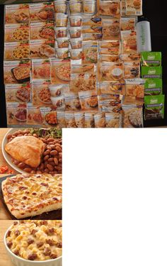 Weight Loss Program Foods: Nutrisystem Lot Of 65-Dinners, Lunches, Breakfasts, Snacks, Shakes, Water Bottle BUY IT NOW ONLY: $269.99
