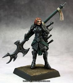 Hellknight: Order of the Pyre :: Reaper Miniatures :: Miniatures