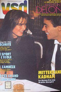 Brooke Shields & Anthony Delon cover VSD N°377, 1984.