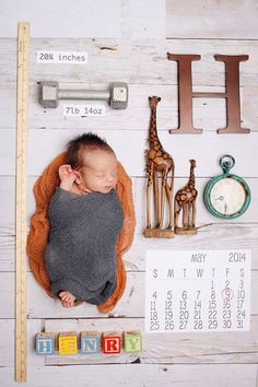 Birth Announcement Newborn Photo Session Inspiration Name Date Weight Ruler Clock Time Unique Custom Kirra Photography Foto Newborn, Newborn Shoot, Newborn Pictures, Baby Pictures, Shower Bebe, Baby Shower, My Bebe, Foto Baby, Baby Birth