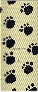 Magia Koralików: Wzory na bransoletki płaskie peyote