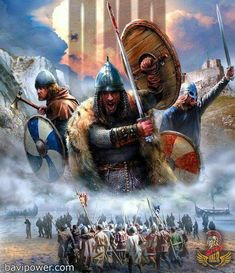 Researchers suggested that the Vikings went on raiding because of the shortage of eligible women whom they could marry. Is this Why Vikings raided? Viking Power, Viking Life, Viking Art, Viking Warrior, Viking Ship, Ancient Vikings, Norse Vikings, Tattoo Artists Near Me, Viking Images