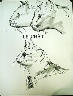 Pablo Picasso, Le Chat on ArtStack #pablo-picasso #art