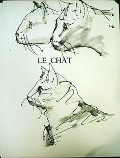 Pablo Picasso, Le Chat on ArtStack #pablo-picasso #art