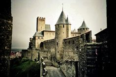 HISTORIC FORTIFIED CITY OF CARCASSONNE, FRANCE UNESCO
