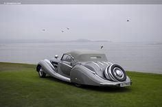 1938 Horch 853 Sport Cabriolet with coachwork by Voll & Ruhrbeck won Best of Show at 2009 Pebble Beach Concours d'Elegance