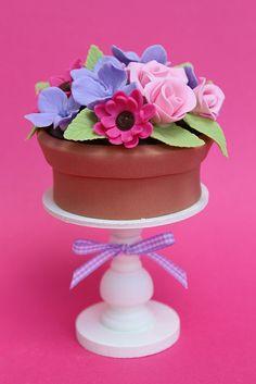 Flower Pot Cupcake