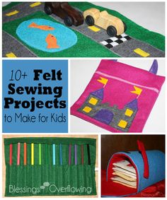 10+ Felt Sewing Projects to Make for Kids