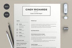 Resume Cindy (2 pages) - Resumes