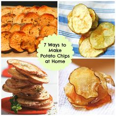 7 Salty Potato Chips You Can Make at Home