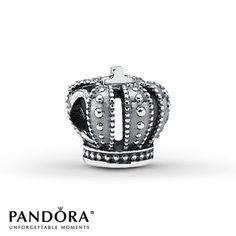 Pandora Charm Royal Crown Sterling Silver