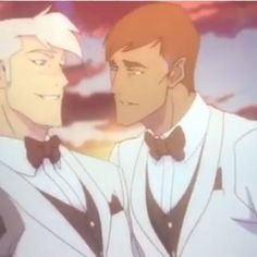 Idk about y'all, but Shiro seems so happy with Curtis and bitch if my baby boy is happy then I'm happy!<<< I'm in love with the fact that Curtis is the one to pull Shiro in and everything. It's amazingly cute. Form Voltron, Voltron Ships, Voltron Klance, Shiro Voltron, Allura, Cute Gay, Paladin, Animation Series, Anime