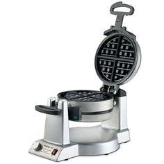 Waring Pro WWM1200PC Double Extra Deep Belgian Waffle Maker - http://sleepychef.com/waring-pro-wwm1200pc-double-extra-deep-belgian-waffle-maker/