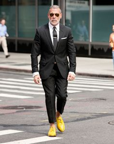 Nick Wooster , Men's Fashion Director, Bergdorf Goodman and Neiman Marcus | perfectly cut suit + oooo those shoes!