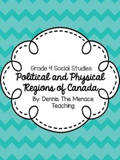 Grade 4 Political and Physical Regions of Canada based on the 2013 Social Studies Curriculum. This is meant to supplement your own unit plan, as it is now an inquiry-based curriculum. This product had opportunities for your students to lead the inquiry pr Ontario Curriculum, Social Studies Curriculum, Social Studies Activities, Science Worksheets, Teaching Social Studies, Teaching Resources, Teaching Ideas, Translate To French, Study French