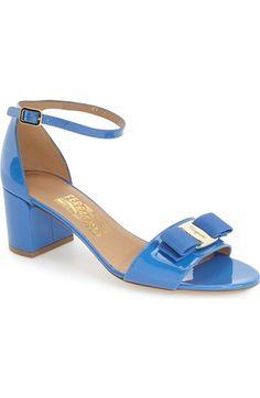 SALVATORE FERRAGAMO 'Gavina' Ankle Strap Sandal (Women). #salvatoreferragamo #shoes #sandals