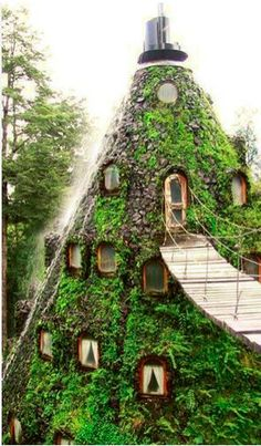 Hotel La Montana Magica – Huilo Chile.