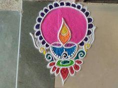 51 Diwali Rangoli Designs Simple and Beautiful