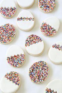 kekse selber backen osterkekse zubereiten streugut