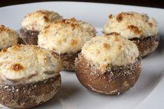 Cogumelos-de-Paris recheados com cream cheese - Receitas - GNT