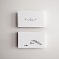 Self Branding by Omar Shammah, via Behance