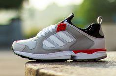 "adidas ZX 5000 Response ""Grey & Red"""