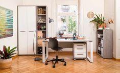 COHEN Pult Office Desk, Corner Desk, Furniture, Home Decor, Wood Slab, Writing Table, Shelf, Ad Home, Nice Asses