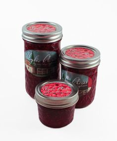 Red Raspberry Jam by UglieAcres on Etsy, $4.00